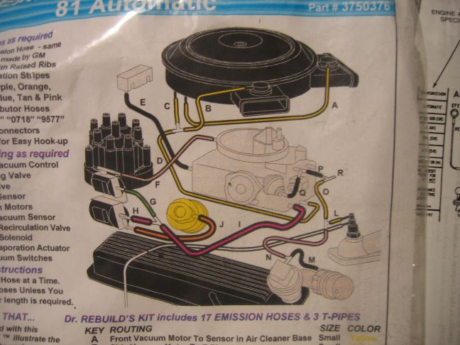 vacuum hoses problem l81thread vacuum hoses problem l81
